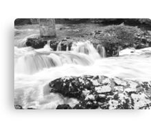 Waterfalls in Motion Canvas Print