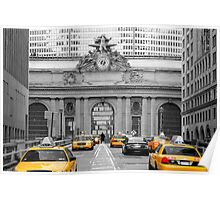 Met Life and Yellow Cabs, New York City, USA Poster
