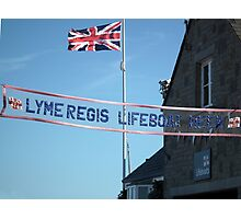 Lyme Regis Lifeboat Week Photographic Print