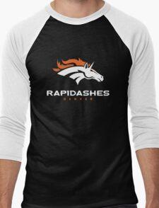 Denver Rapidashes (Blue) Men's Baseball ¾ T-Shirt