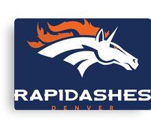 Denver Rapidashes (Blue) Canvas Print