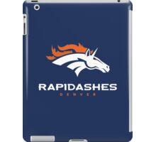 Denver Rapidashes (Blue) iPad Case/Skin