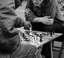Chess on Union Square, New York City, USA by Sabine Jacobs