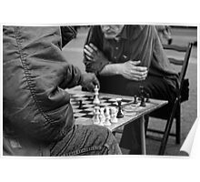 Chess on Union Square, New York City, USA Poster