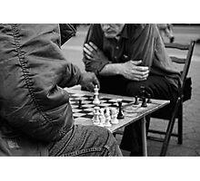 Chess on Union Square, New York City, USA Photographic Print