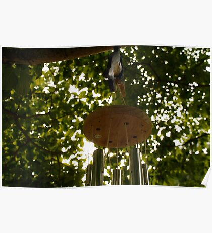 lonely wind chime Poster