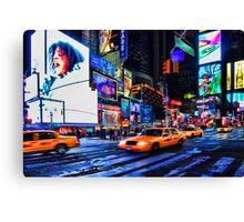 Times Square III aka Scream, New York City, USA Canvas Print