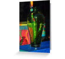 Through a Glass, Brightly Greeting Card