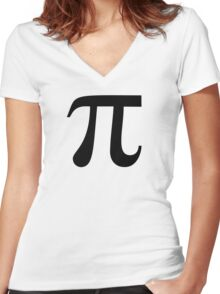 Pi-tacular Women's Fitted V-Neck T-Shirt