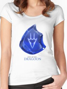 Soul of the Dragoon -white Women's Fitted Scoop T-Shirt