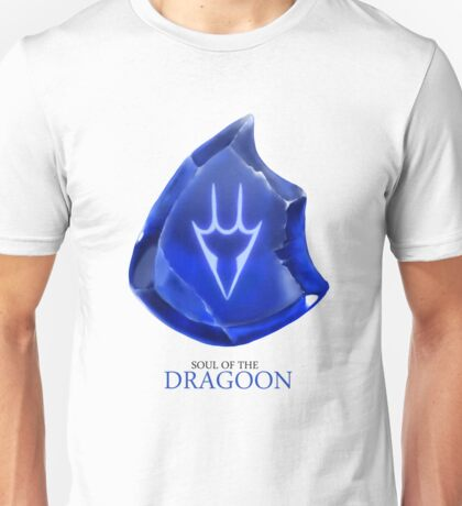 Soul of the Dragoon -white Unisex T-Shirt
