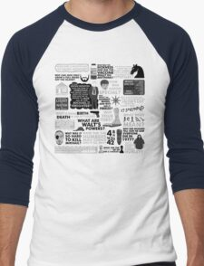 LOST is over, but... Men's Baseball ¾ T-Shirt