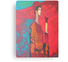 Red Red Hat Canvas Print