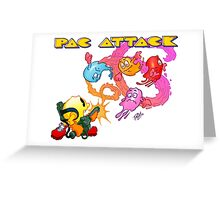 Pac Attack 2.0 Greeting Card