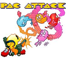 Pac Attack 2.0 Photographic Print