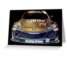 MAZDASPEED Greeting Card