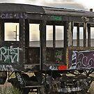 Old Passenger Car by Robert  Miner