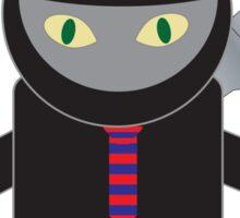 Ninja Kitty for President  Sticker