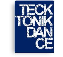 Tecktonik Dance Canvas Print