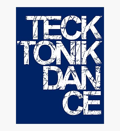 Tecktonik Dance Photographic Print