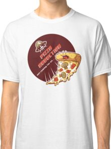 Pizza Abduction Classic T-Shirt