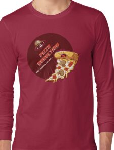 Pizza Abduction Long Sleeve T-Shirt