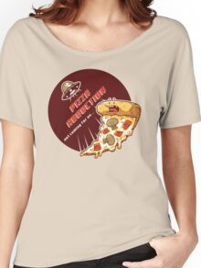 Pizza Abduction Women's Relaxed Fit T-Shirt