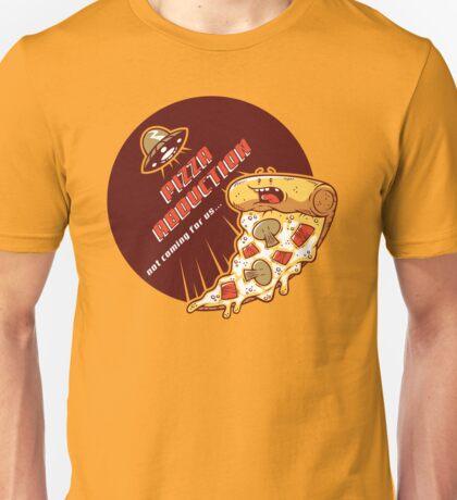 Pizza Abduction Unisex T-Shirt
