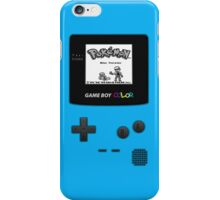 Gameboy Pokemon Blue iPhone Case/Skin