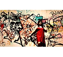 Graffiti Wall - Jasmine Allen Photographic Print