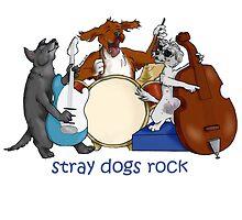 stray dogs rock! by straydogsart
