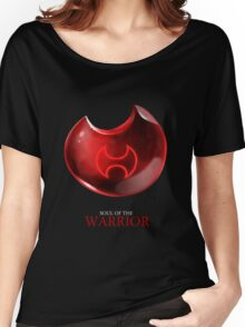 Soul of the Warrior -black Women's Relaxed Fit T-Shirt