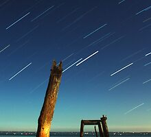 Cat Bay Star Trails by Jared McLeod