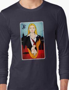 Olivia VS Fauxlivia | Fringe Long Sleeve T-Shirt