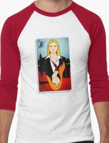 Olivia VS Fauxlivia | Fringe Men's Baseball ¾ T-Shirt