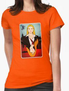 Olivia VS Fauxlivia | Fringe Womens Fitted T-Shirt