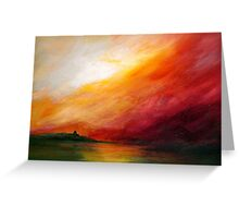 The In-rolling Walls of the Fog... Greeting Card