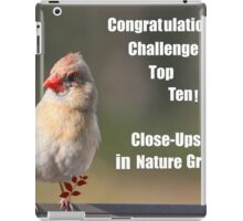 Top Ten Banner Challenge iPad Case/Skin