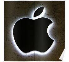 Apple Store Logo Poster