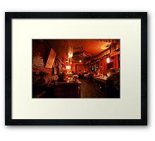 Hotel Kabur Framed Print