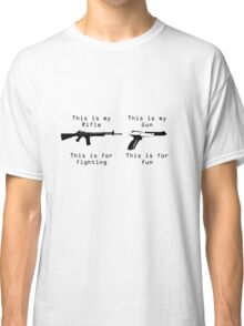 This is my gun Classic T-Shirt