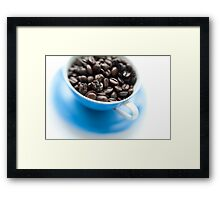 wake-up cup Framed Print