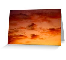 Martian Skies Greeting Card