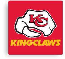 Kansas City Kingclaws (Red) Canvas Print