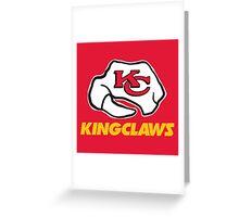 Kansas City Kingclaws (Red) Greeting Card