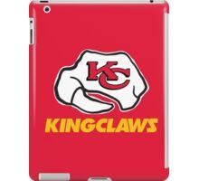 Kansas City Kingclaws (Red) iPad Case/Skin