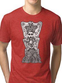 Dark Red Queen Tri-blend T-Shirt