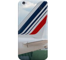 Air France Airbus A320 tail livery iPhone Case/Skin