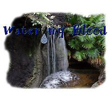 Water my Blood Photographic Print