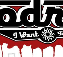 Team Godric (3D+Blood) Sticker